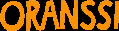 Oranssin logo, jossa lukee Oranssi isoin oranssinvärisin kirjaimin